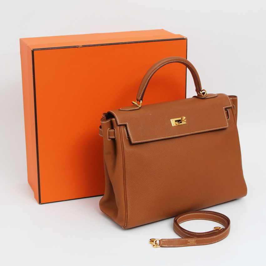 """HERMÈS timeless Henkel/shoulder bag """"RETOURNE KELLY BAG 32"""" - photo 4"""