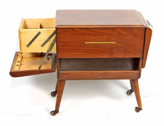 Art Deco sewing box 1930's - photo 1
