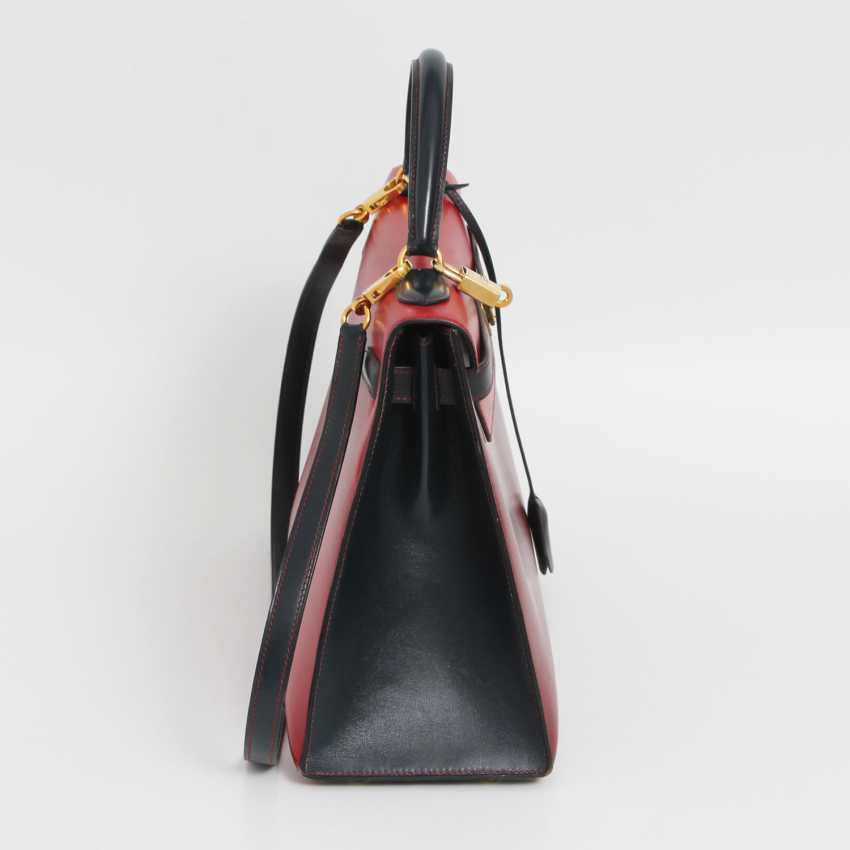 "HERMÈS VINTAGE outlandish Style Icon Handtasche ""SELLIER KELLY BAG 32"". - photo 3"