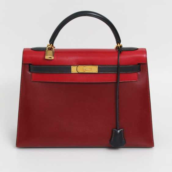 "HERMÈS VINTAGE outlandish Style Icon Handtasche ""SELLIER KELLY BAG 32"". - photo 1"