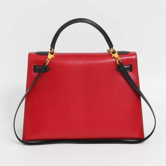 "HERMÈS VINTAGE outlandish Style Icon Handtasche ""SELLIER KELLY BAG 32"". - photo 2"