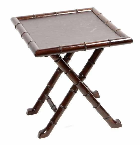 Folding Table Bamboo Optic - photo 1