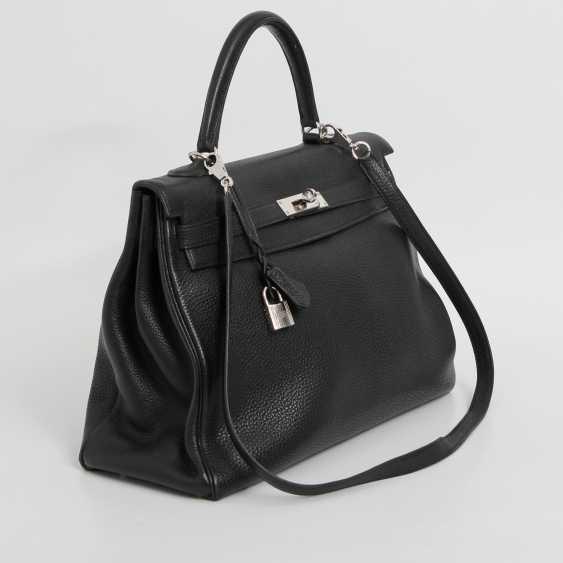 "HERMÈS exclusive icons handle bag ""RETOURNE KELLY BAG 35"", - photo 2"