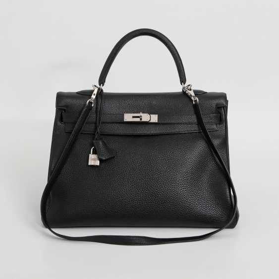 "HERMÈS exclusive icons handle bag ""RETOURNE KELLY BAG 35"", - photo 1"
