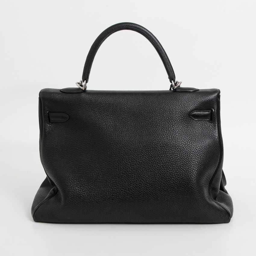 "HERMÈS exclusive icons handle bag ""RETOURNE KELLY BAG 35"", - photo 4"