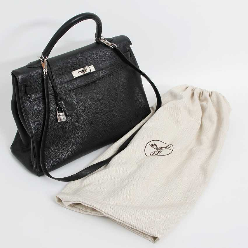 "HERMÈS exclusive icons handle bag ""RETOURNE KELLY BAG 35"", - photo 5"