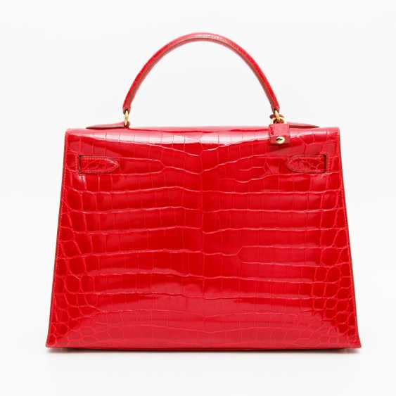 """HERMÈS exquisite handbag """"KELLY BAG 32"""", collection in 1997. Factory price approx.: 40.000,-€. MINT!! - photo 4"""