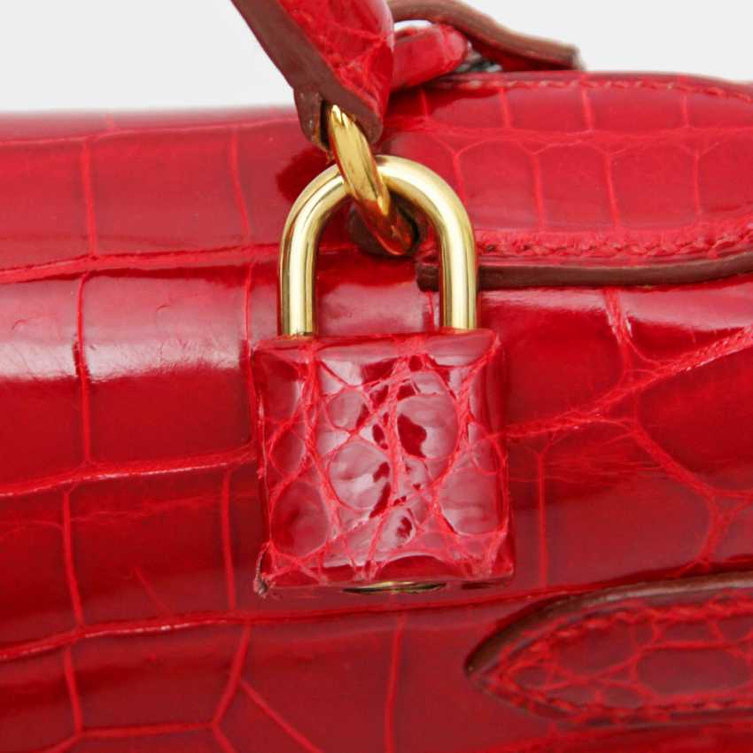 """HERMÈS exquisite handbag """"KELLY BAG 32"""", collection in 1997. Factory price approx.: 40.000,-€. MINT!! - photo 5"""