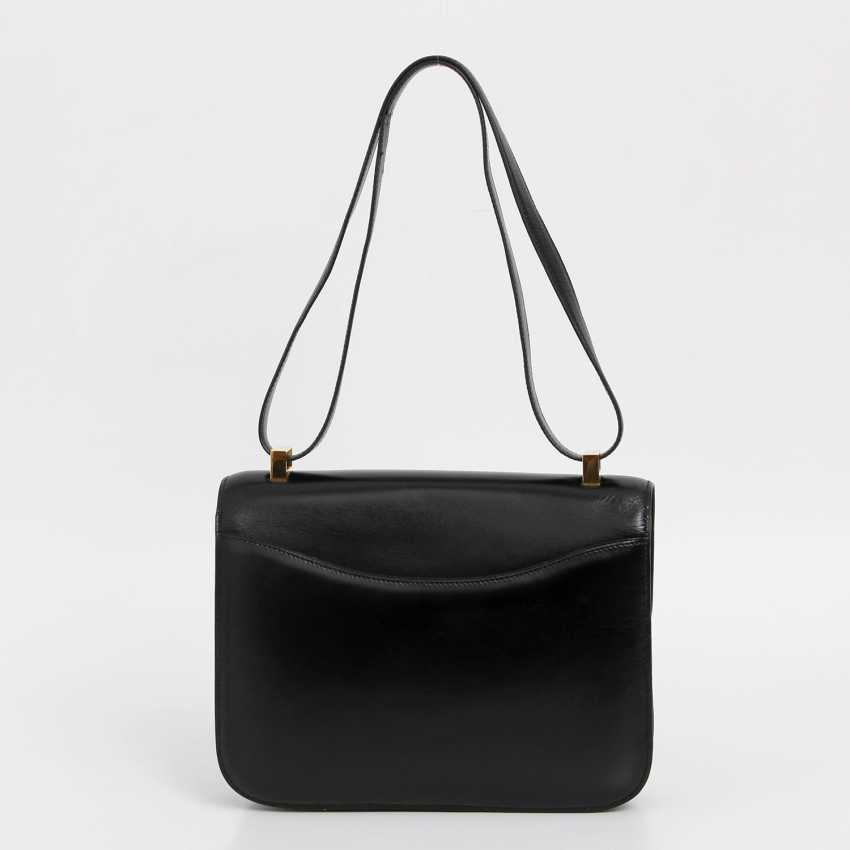 "HERMÈS VINTAGE chic shoulder bag ""CONSTANCE 23"", collection, 1988. - photo 4"