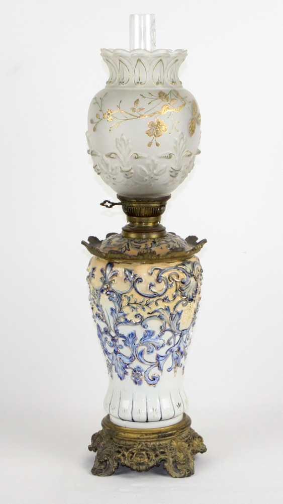 Historicism kerosene lamp 1880 - photo 1