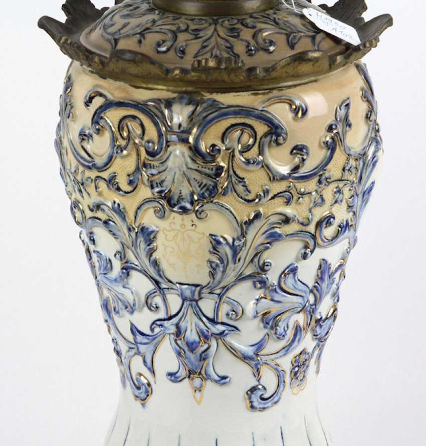 Historicism kerosene lamp 1880 - photo 2