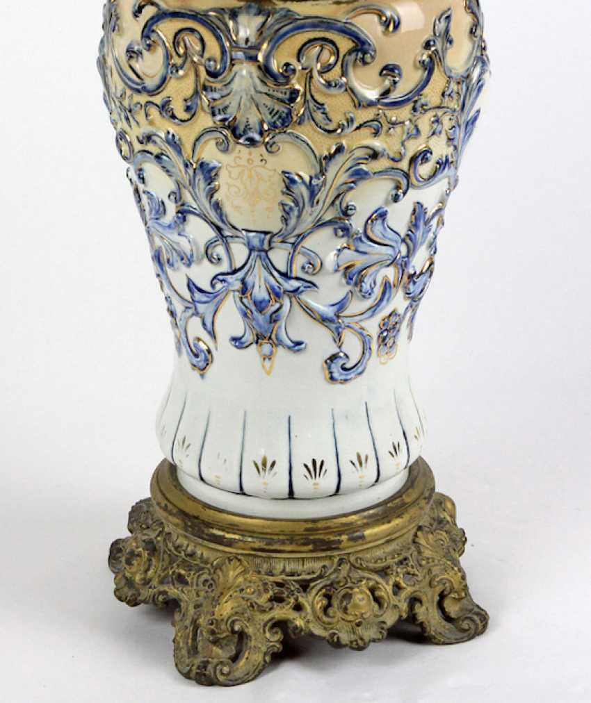 Historicism kerosene lamp 1880 - photo 3