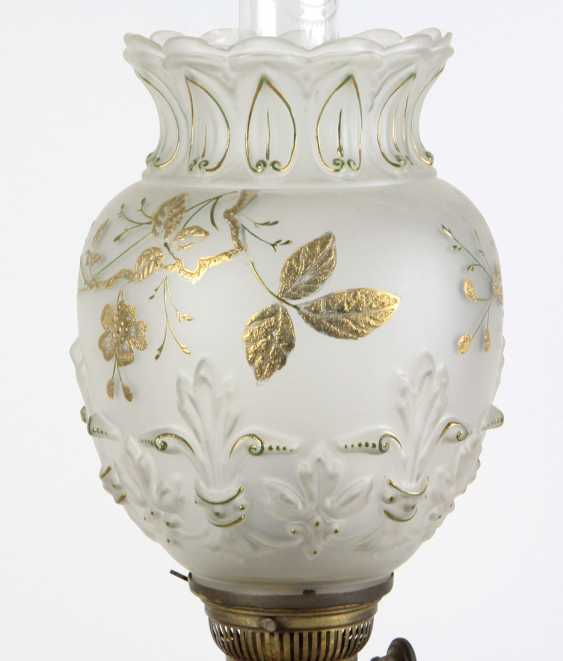 Historicism kerosene lamp 1880 - photo 4