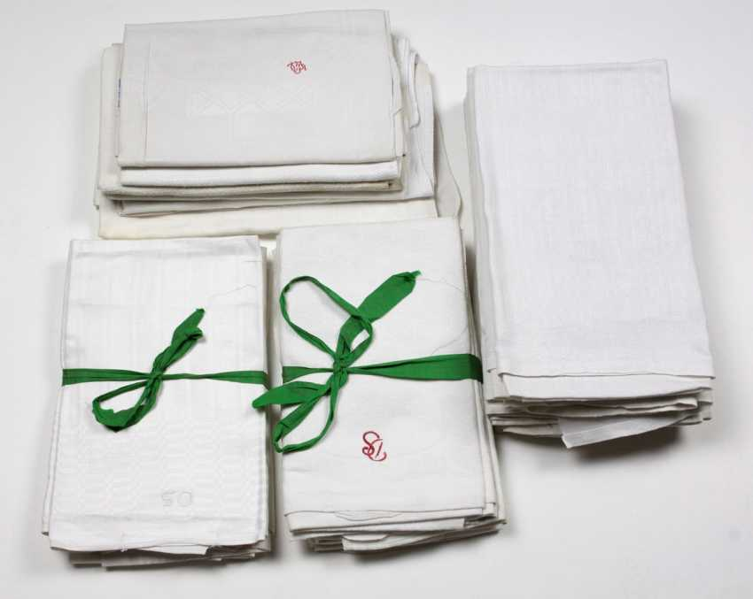 large Items linen towels to 1900/20 - photo 1