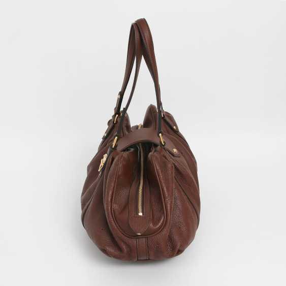 """LOUIS VUITTON exclusive shoulder bag """"LUNAR GM"""", collection 2009. - photo 3"""