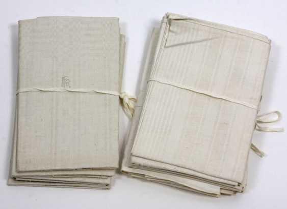 3 sets of linen towels to 1930 - photo 1