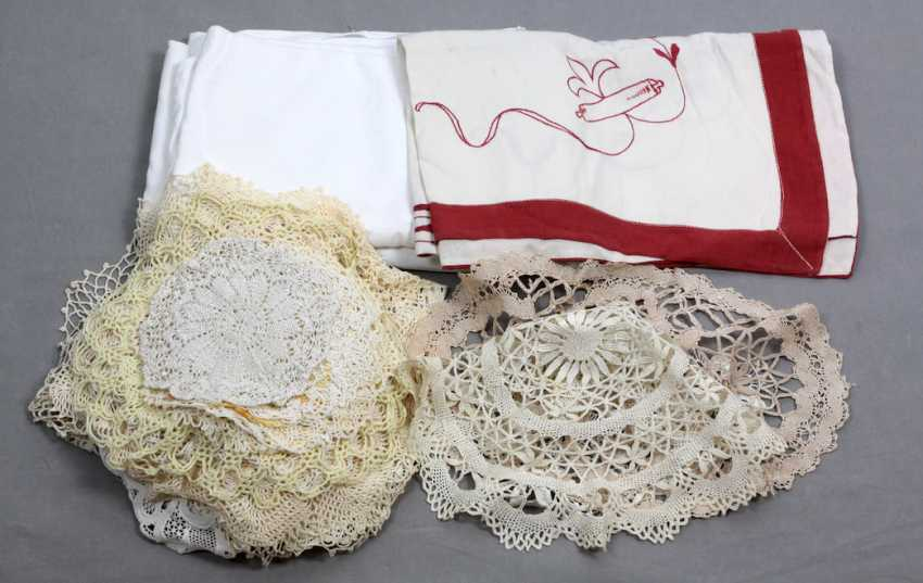 Items, doilies and other - photo 1