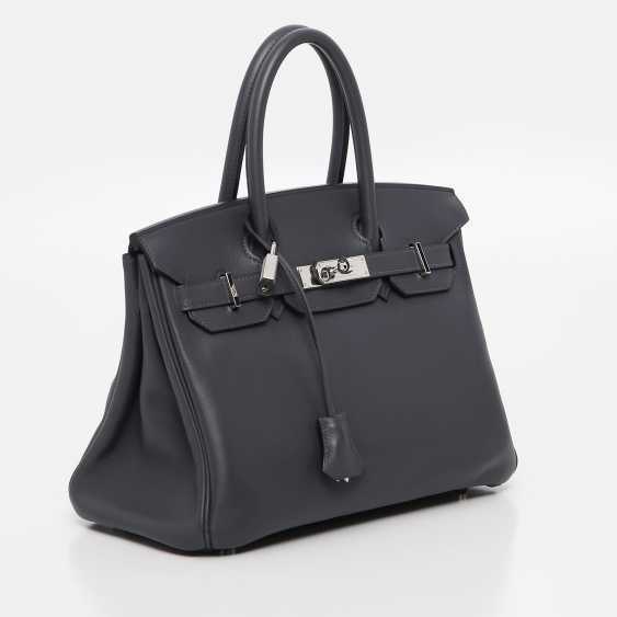 "HERMÈS exclusive It-Bag ""BIRKIN BAG 30"", collection 2009. - photo 3"