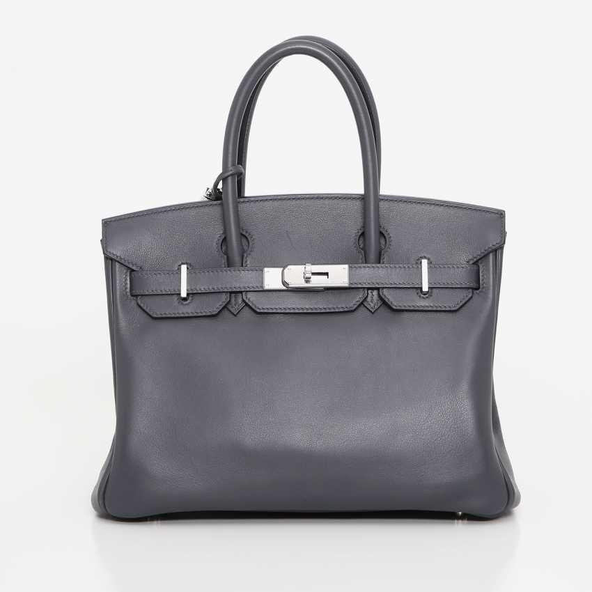 "HERMÈS exclusive It-Bag ""BIRKIN BAG 30"", collection 2009. - photo 1"