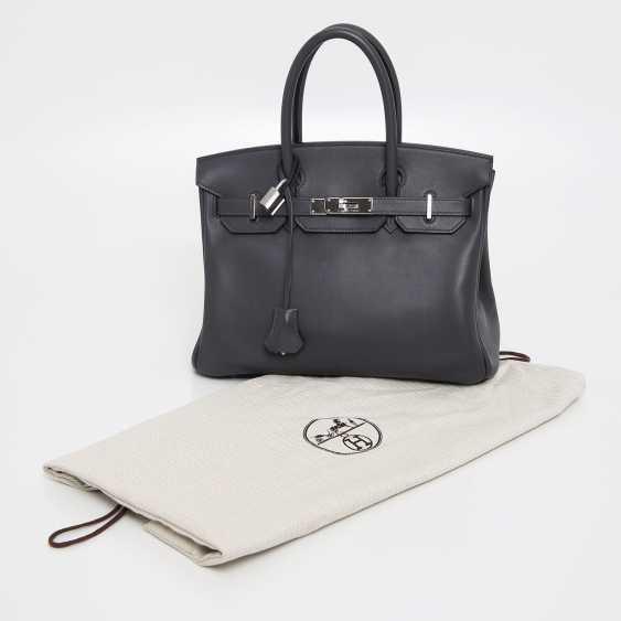 "HERMÈS exclusive It-Bag ""BIRKIN BAG 30"", collection 2009. - photo 5"