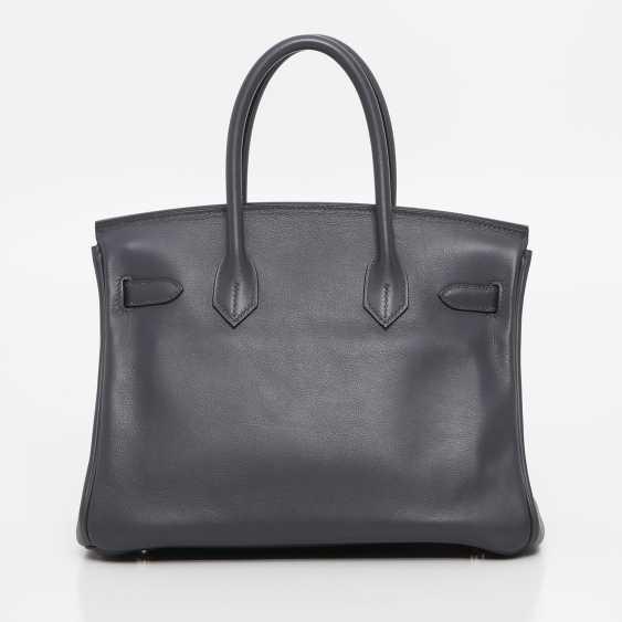 "HERMÈS exclusive It-Bag ""BIRKIN BAG 30"", collection 2009. - photo 4"