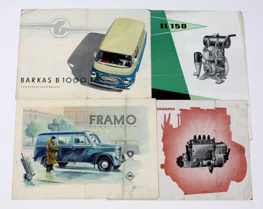 Framo, Barkas. IFA Prospectus - photo 1