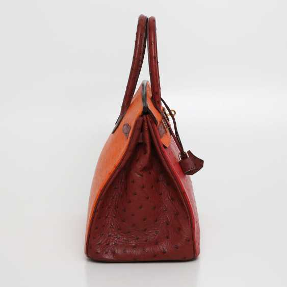 "HERMÈS exquisite It-Bag ""BIRKIN BAG 35"", collection 2006. - photo 3"