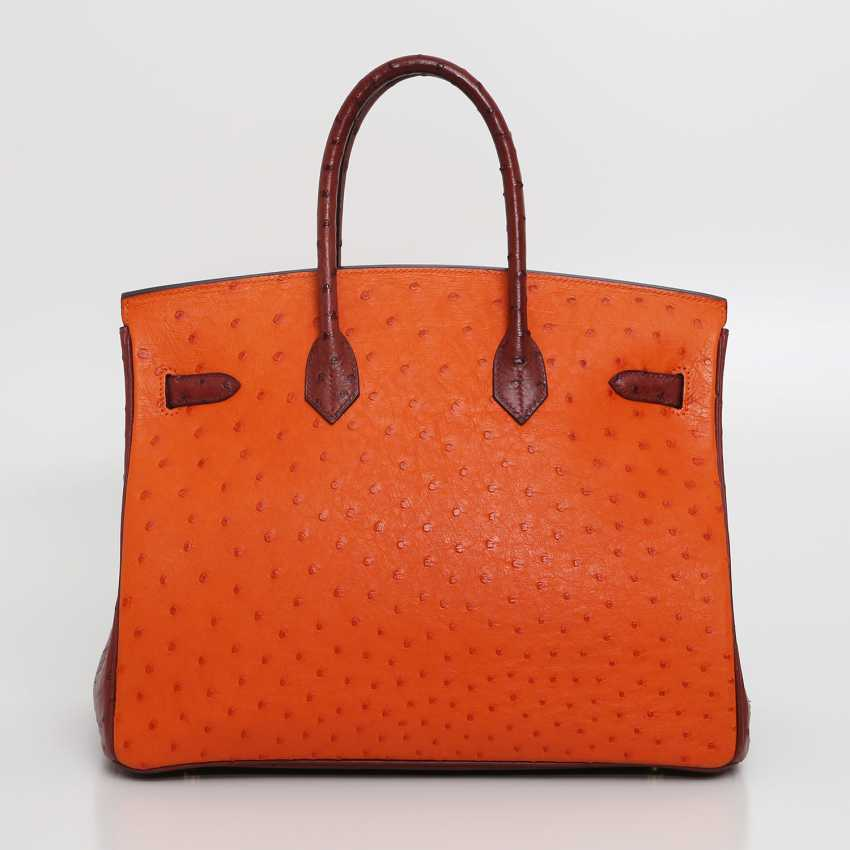 "HERMÈS exquisite It-Bag ""BIRKIN BAG 35"", collection 2006. - photo 4"