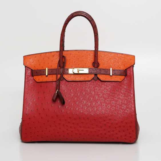 "HERMÈS exquisite It-Bag ""BIRKIN BAG 35"", collection 2006. - photo 1"