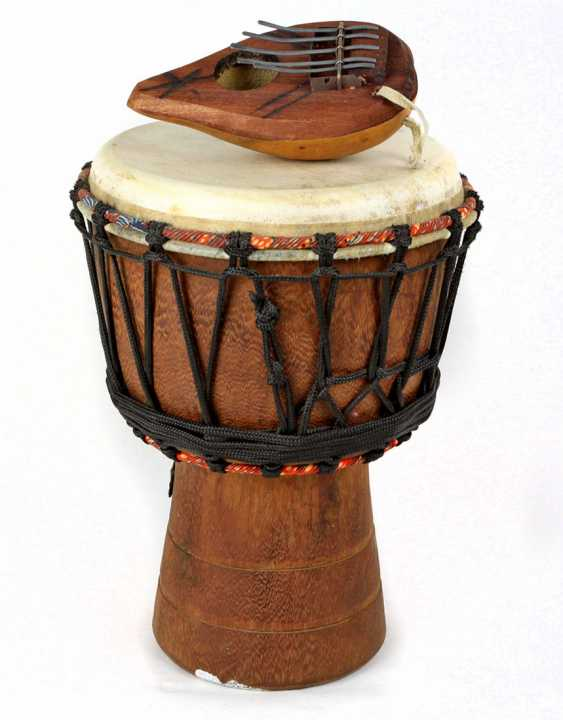 2 African music instruments - photo 1