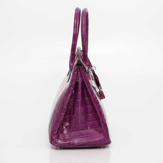 "HERMÈS exquisite It-Bag ""BIRKIN BAG 35"", collection 2011. - photo 4"