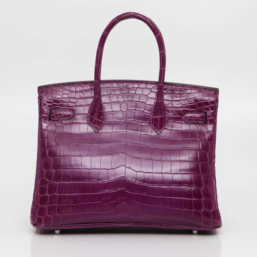 "HERMÈS exquisite It-Bag ""BIRKIN BAG 35"", collection 2011. - photo 2"