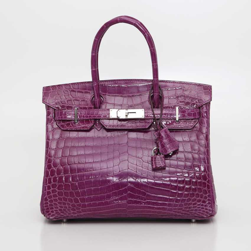 "HERMÈS exquisite It-Bag ""BIRKIN BAG 35"", collection 2011. - photo 1"
