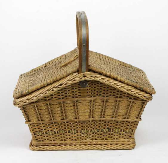 Wicker basket - photo 1