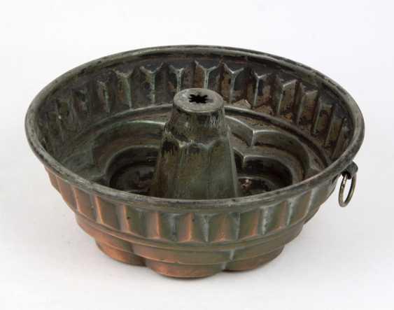 Bundt cake baking pan, around 1900 - photo 2