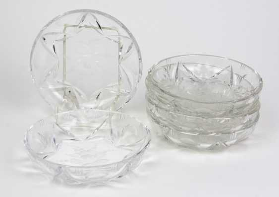 Set Of Crystal Bowls - photo 1