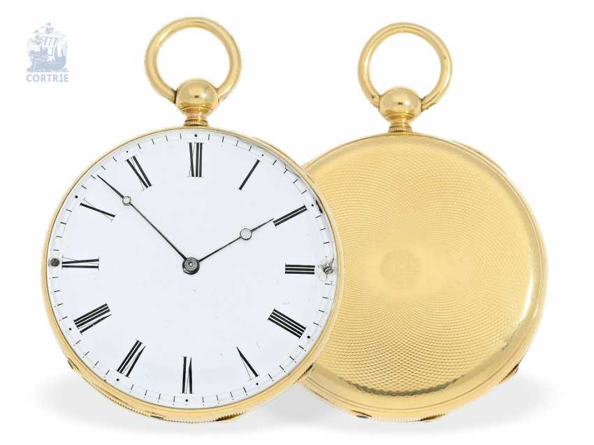 Pocket watch: fine, early Lepine with quarter-hour Repetition, Lequin & Yersin a, Fleurier, circa 1830 - photo 1