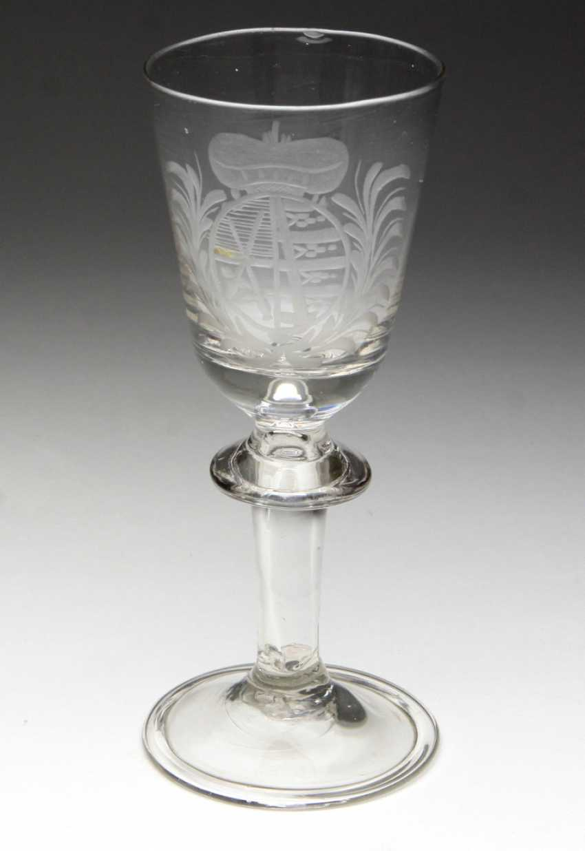 Baroque goblet, Saxony coat of arms - photo 1