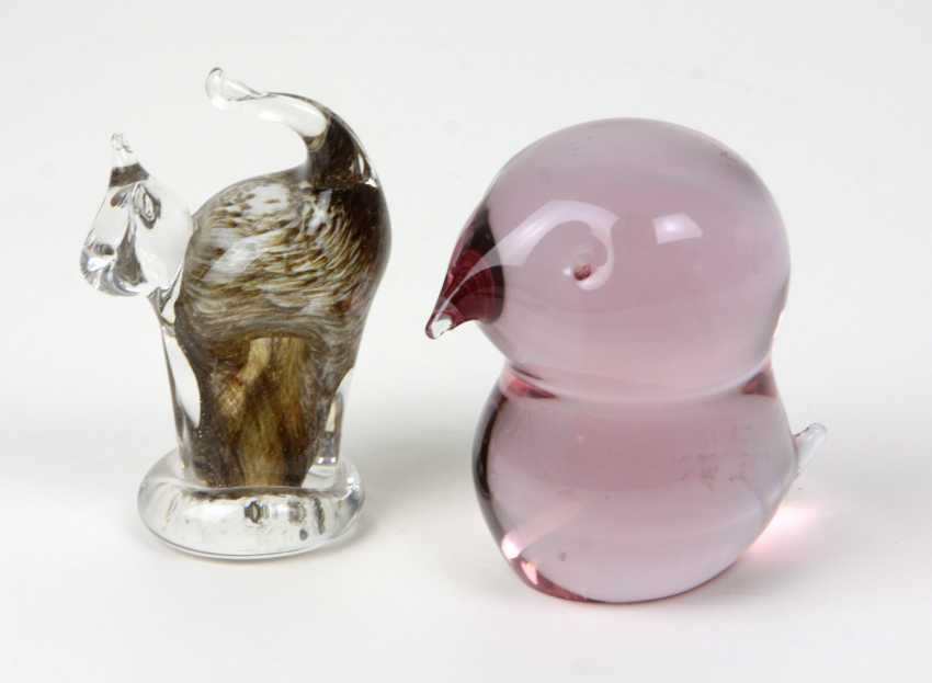 2 figural Paperweights - photo 1
