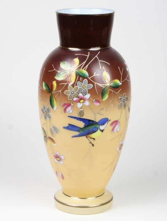 hand-painted Vase circa 1920 - photo 1