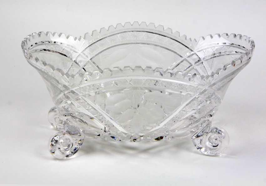large crystal bowl - photo 1