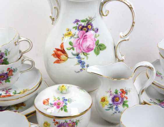 Meissen Coffee Service *Flowers Bouquet* - photo 2
