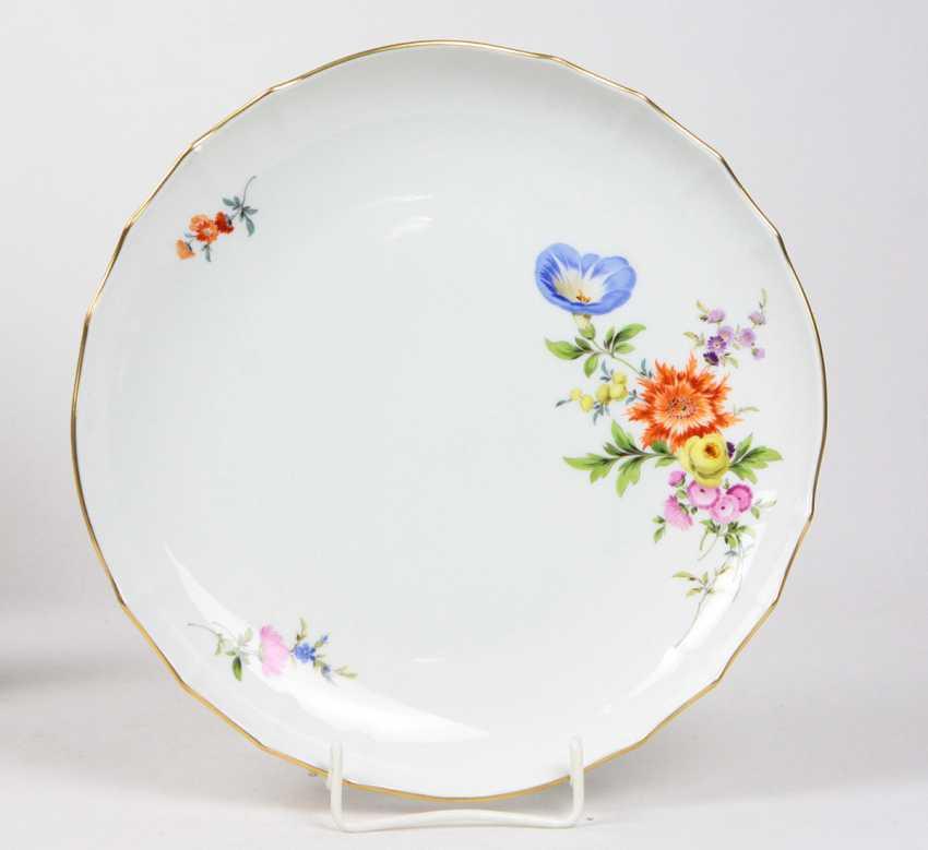Meissen Cake Plate *Blütenboquet* - photo 1