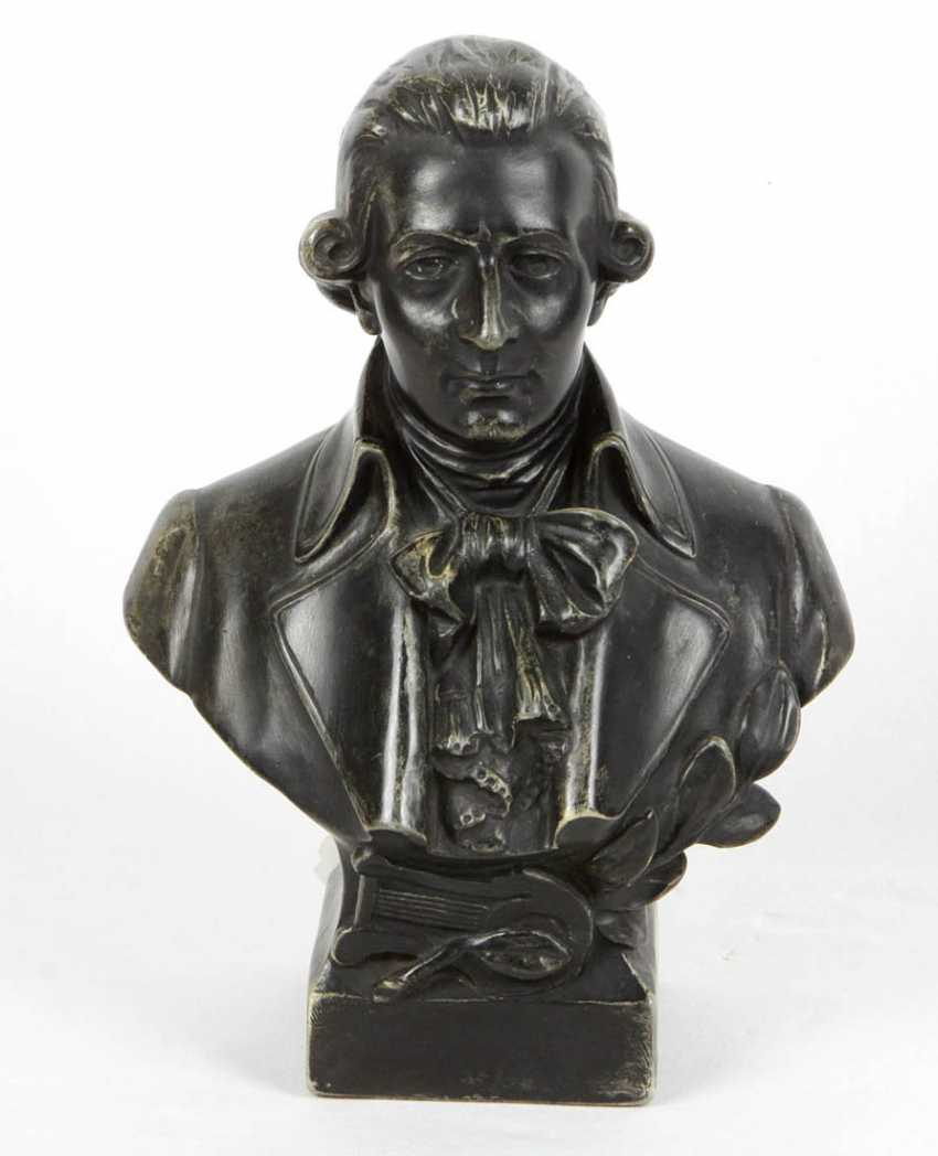With A Bust Of Mozart - photo 1