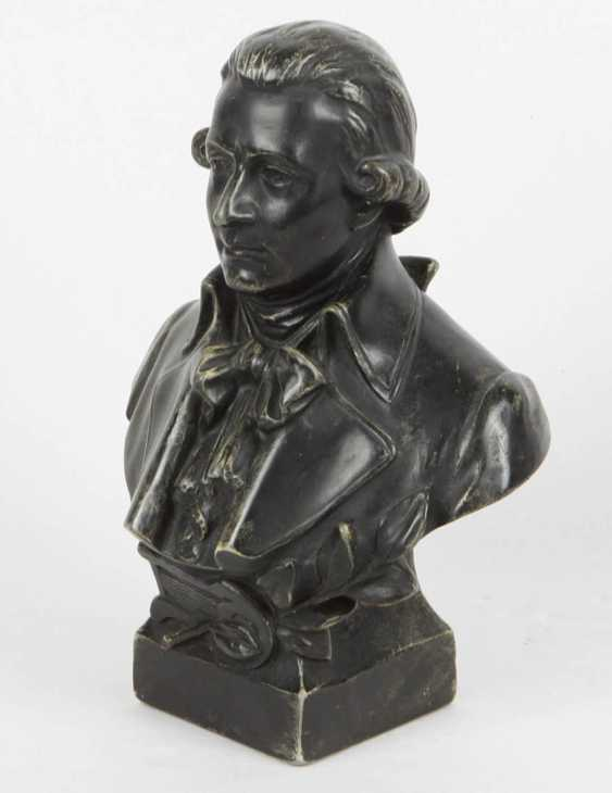With A Bust Of Mozart - photo 2