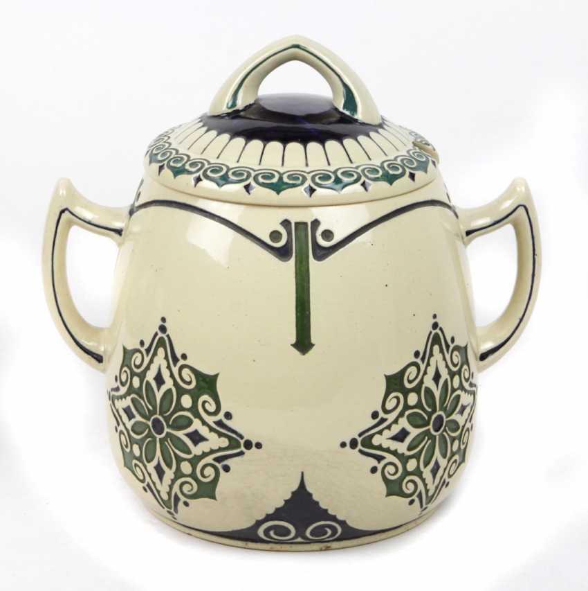 Art Nouveau ceramic bowl 1910 - photo 1