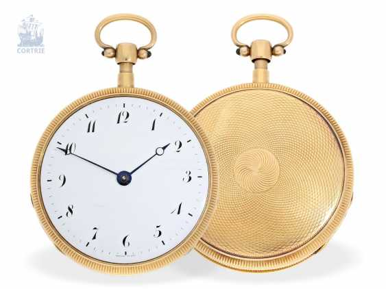 Pocket watch: exquisite French repeater watch in near mint condition, Breguet et Fils No. 2221, CA. 1820 - photo 1