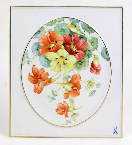 Meissen Plate *Flower 1* - photo 1