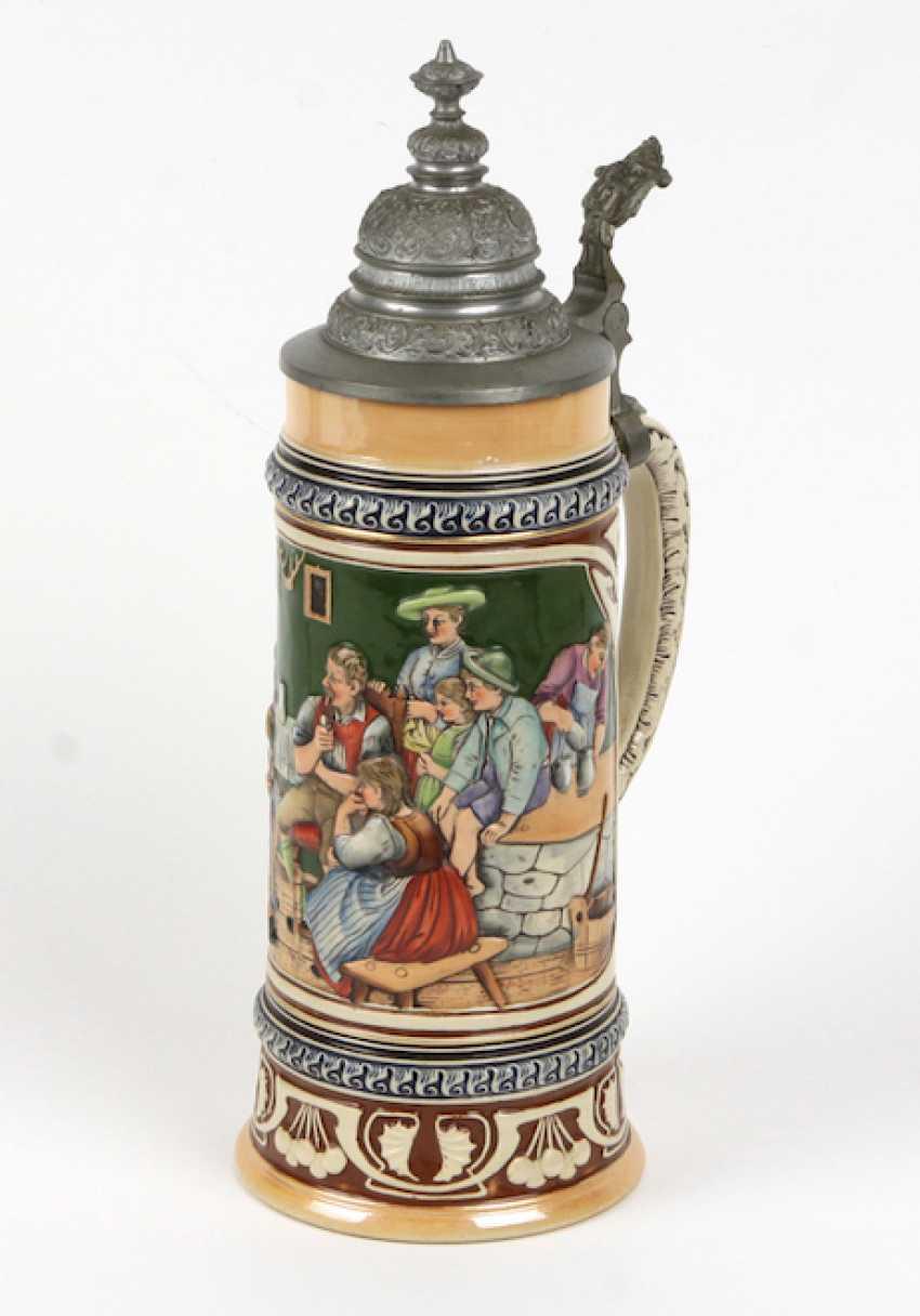 Ceramic jug 1900 - photo 1
