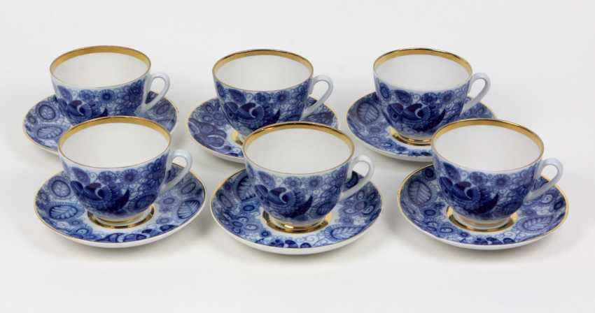 6 Coffee Lomonosov Porcelain Tableware - photo 1